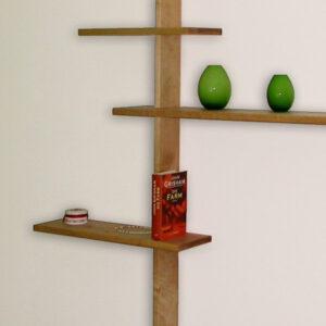 dekoratives Regal, Material: Birke