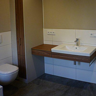 Badezimmer aus Ulme Dekor